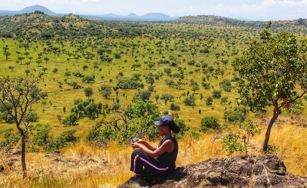 second largest conservation protected area in Uganda
